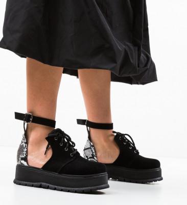 Ежедневни обувки Vespas 3 Черни