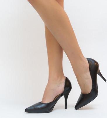 Обувки Манго Черни