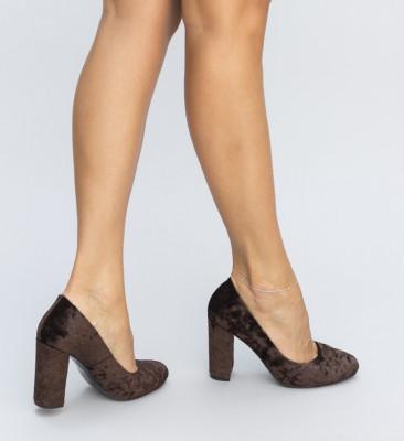 Обувки Права Кафяви