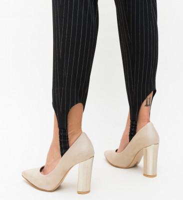 Обувки Adry Бежови 3