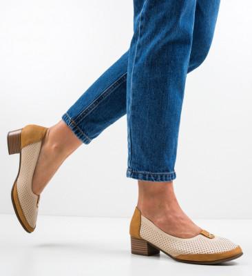 Обувки Brazil Бежов