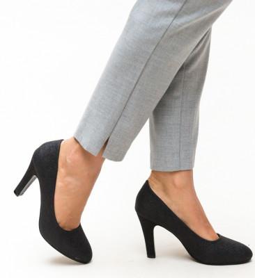 Обувки Ciscom Черни