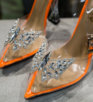 Обувки Enva Оранжеви