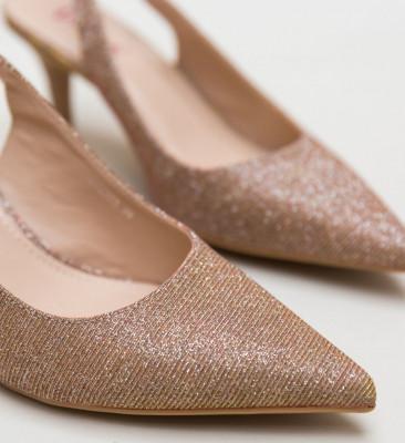 Обувки Jax Златни