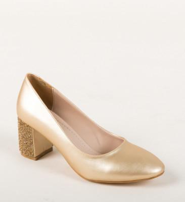 Обувки Kalo Златни