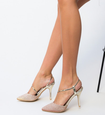Обувки Markin Златни 2