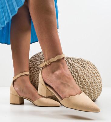 Обувки Mildred Бежов