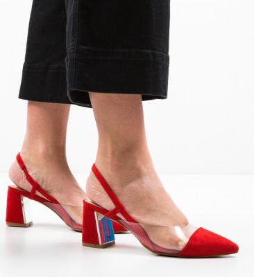 Обувки Milla Червени