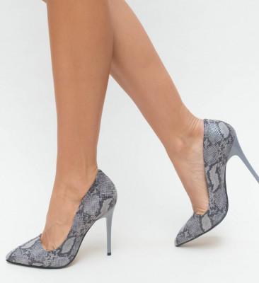 Обувки Misy Сиви