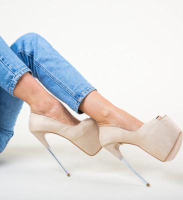 Обувки Munteako Бежов