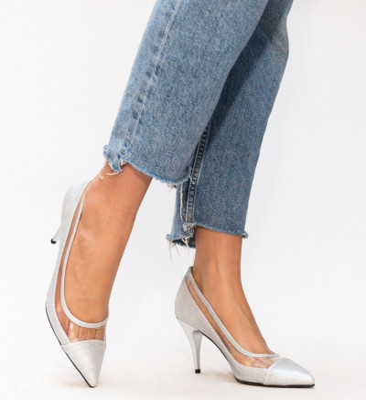 Обувки Rudy Сребърни
