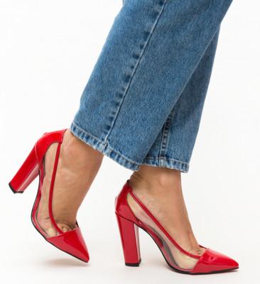 Обувки Seneha Червени