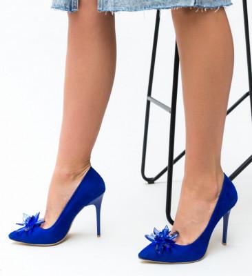 Обувки Zalos Сини