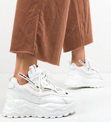 Спортни обувки Eva Бели