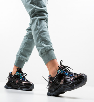 Спортни обувки Teras Черни