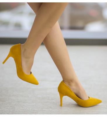 Pantofi Hel Galbeni