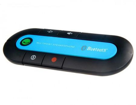 Car kit auto bluetooth - Hands Free Albastru