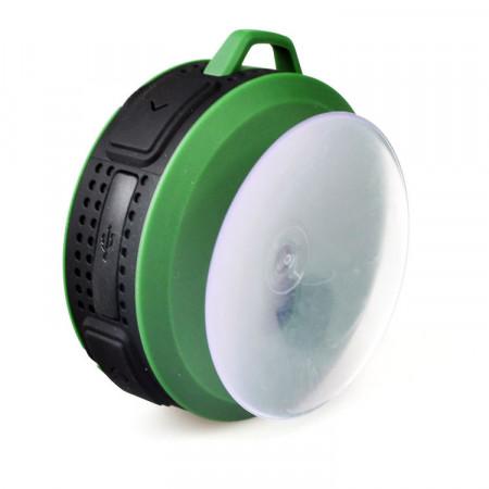 Car kit bluetooth, boxa portabila waterproof Verde