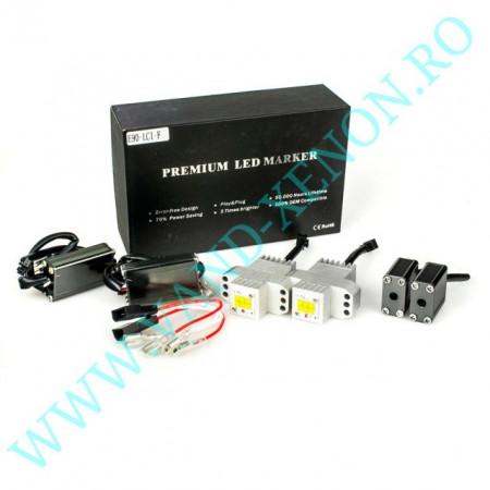 LED Marker BMW E90 6 SMD CREE 120W - Angel eyes