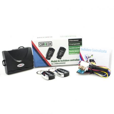 Modul inchidere centralizata L08 Cartech, 2 telecomenzi Y10 si modul confort