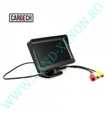 Senzori de parcare cu afisaj si camera Cartech SP606