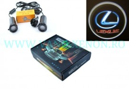 Set proiectoare / Logo montare sub usa 5w Lexus