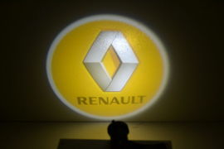Set proiectoare / Logo montare sub usa 5w Renault