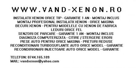 Montaj Kit Xenon H1, H3, H4 BI-XENON, H7, H8, H9, H10, H11, HB3 9005, HB4 9006 , H27 ( 880 ), D1S, D2S, D1R, D2R ! (Demontat)
