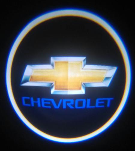 Set proiectoare / Logo montare sub usa 5w Chevrolet