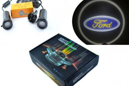 Set proiectoare / Logo montare sub usa 5w Ford