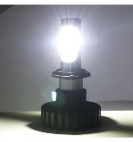 Kit LED H7 cu 8 chip-uri Phillips Z-ES 80W