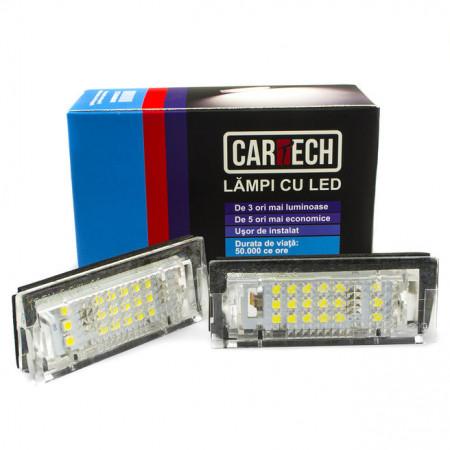 Lampi numar dedicate cu led BMW E39 5 usi, E46 4 usi 5 usi