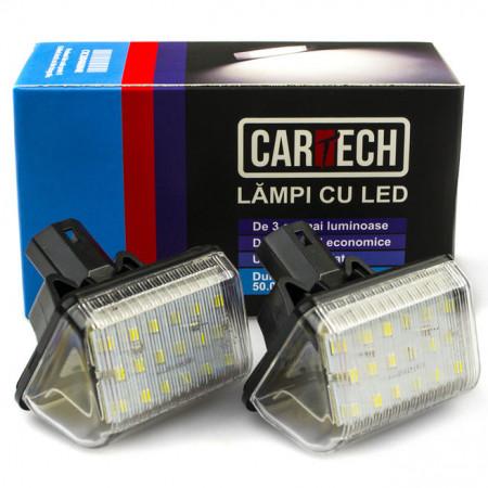 Lampi numar dedicate cu led Mazda CX-7, 6, CX-5