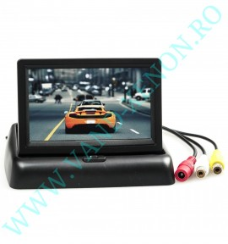 Senzori de parcare cu afisaj si camera Cartech SR701