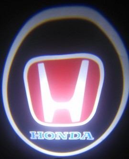 Set proiectoare / Logo montare sub usa 5w Honda