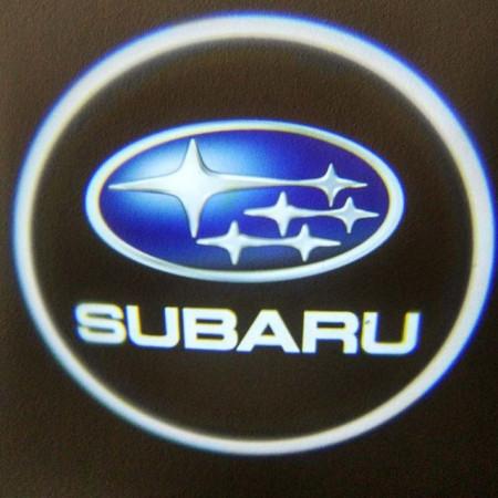 Set proiectoare / Logo montare sub usa 5w Subaru