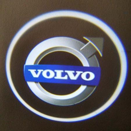 Set proiectoare / Logo montare sub usa 5w Volvo