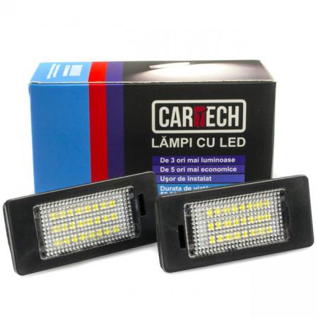 Lampi numar dedicate cu led Audi Q5