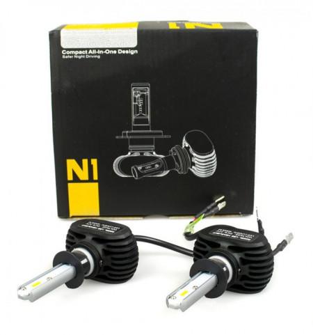 Kit LED CREE N1 cu radiator H1 H7 H11