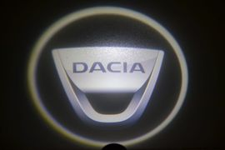 Set proiectoare / Logo montare sub usa 5w Dacia