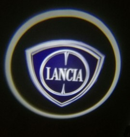 Set proiectoare / Logo montare sub usa 5w Lancia