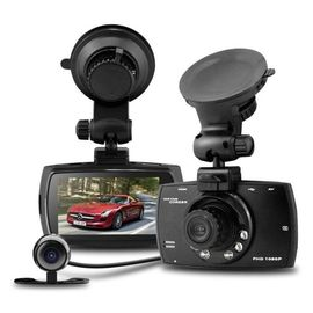 Camera video auto dubla DVR Allwinner A10 GS610 FullHD