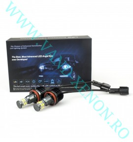 LED Marker BMW H8 12 SMD CREE 120W - Angel Eyes