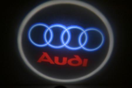 Set proiectoare / Logo montare sub usa 5w Audi