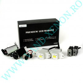 LED Marker BMW E90 LCI 6 SMD CREE 120W - Angel eyes