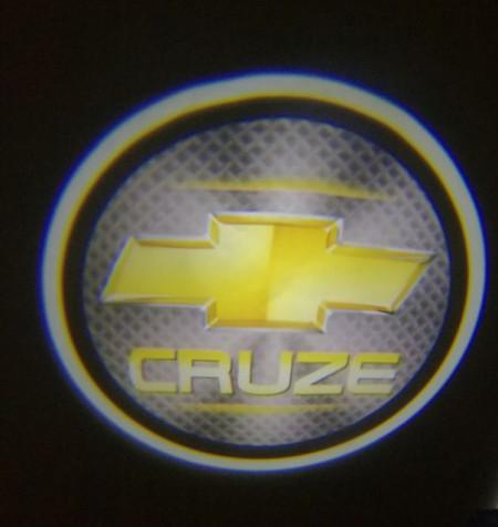 Set proiectoare / Logo montare sub usa 5w Chevrolet cruze
