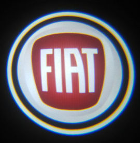 Set proiectoare / Logo montare sub usa 5w Fiat