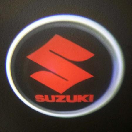 Set proiectoare / Logo montare sub usa 5w Suzuki