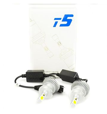 Poze Kit LED COB H7 60W T5