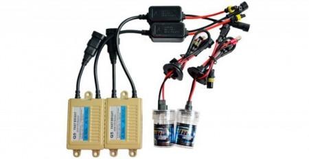 Kit Xenon 55W SLIM H9 Incarcare Rapida